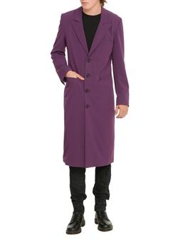 Hot Topic - Rude Purple Trench Coat