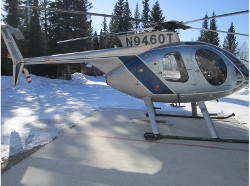 Md-Hughes  - 500E Helicopter
