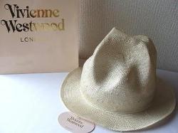 Vivienne Westwood - Straw Mountain Hat