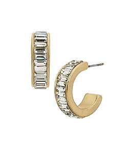 Kenneth Cole - Bead Small Hoop Earrings