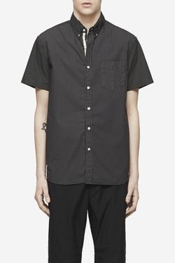 Rag & Bone - Short Sleeve Pocket Button Down Oxford Shirt