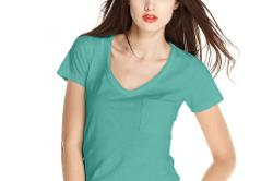 Maison Jules - V-Neck Pocket Tee