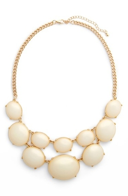Girly Cabochon  - Statement Necklace
