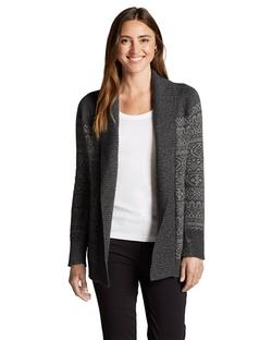 Eddie Bauer - Geo Jacquard Cardigan Sweater