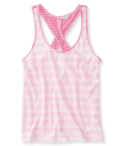 Aeropostale - Neon Stripe Reversible Tank Top