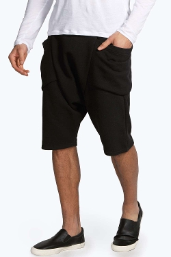 Boohoo - Drop Crotch Panel Pocket Shorts
