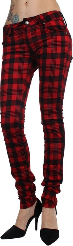 Tripp Nyc - Plaid T-Jeans