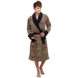 Avitalk - Leopard Print Robe