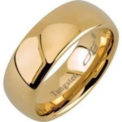 Bonyak Jewelry  - Dura Tungsten Gold Immersion Plated Domed Band