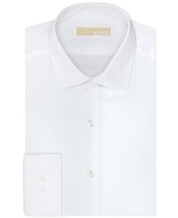 Michael Michael Kors - Twill Solid Dress Shirt