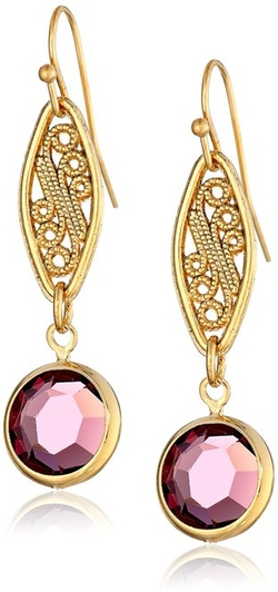 1928 Jewelry - Swarovski Crystal Drop Earrings