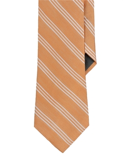 Lauren Ralph Lauren  - Striped Silk Cotton Tie