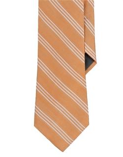 Lauren Ralph Lauren  - Striped Silk Cotton Tie