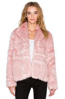 State of Being - Powderpuff Faux Fur Coat