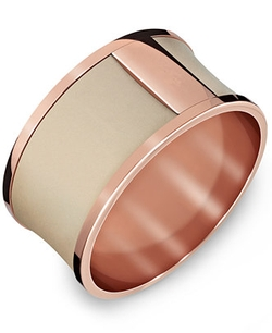 Calvin Klein  - Rose Gold-Tone Bangle Bracelet