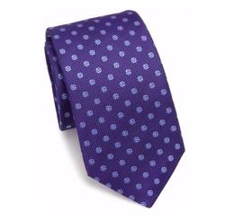 Eton  - Floral Silk Tie