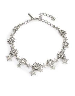 Oscar De La Renta - Crystal Star Collar Necklace