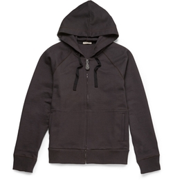 Bottega Veneta   - Loopback Cotton-Jersey Hoodie