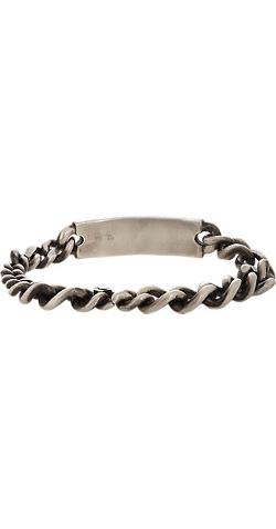 Werkstatt:München - Silver ID Bracelet