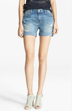 Current/Elliott - The Slouchy Cut-Off Shorts