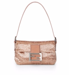 Fendi - Fendi Mini Beaded Baguette Bag