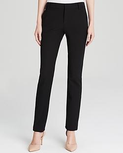 Vince - Slim Straight-Leg Crepe Trousers