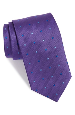 David Donahue  - Dot Silk Tie