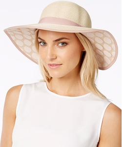 Collection XIIX - Lace Polka Dot Petal Floppy Hat