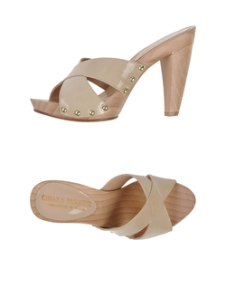 Chiara Pasquini  - Open Toe Mule Sandals