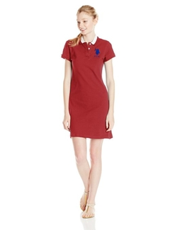U.S. Polo Assn. - Classic Short Sleeve Pique Polo Dress
