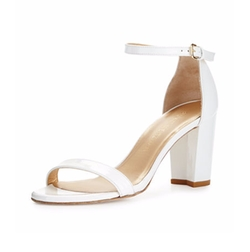 Stuart Weitzman - Nearlynude Patent City Sandals