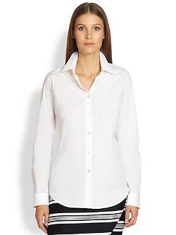 Max Mara  - Classic Cotton Poplin Shirt