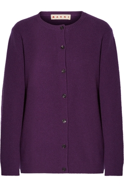 Marni - Zip-Detailed Cashmere Cardigan