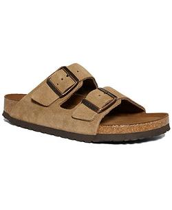 Birkenstock Arizona  - Soft Footbed Two Band Suede Sandals