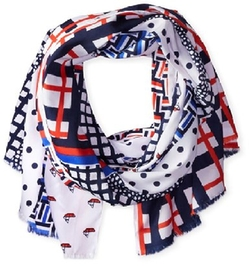 Jules Smith  - Printed Lightweight Hamptons Scarf