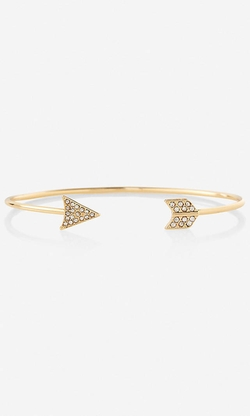 Express - Arrow Open Bangle Bracelet