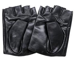 Ambesi - Zipped Fingerless Gloves