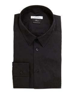 Versace  - Slim Fit Dress Shirt, Black
