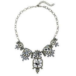 Tagoo - Bib Statement Choker Necklace
