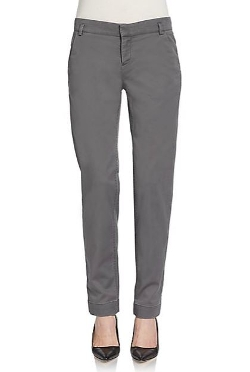 Saks Fifth Avenue Blue  - Washed Slim Chino Pants