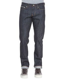 Naked and Famous Denim	  - WeirdGuy Left Hand Indigo Selvage Jeans