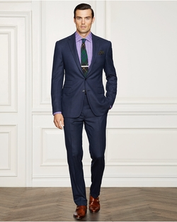 Ralph Lauren - Drake Birdseye Wool Suit