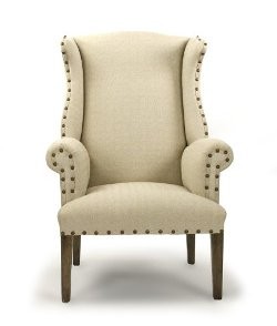Zentique - Wing Back Arm Chair