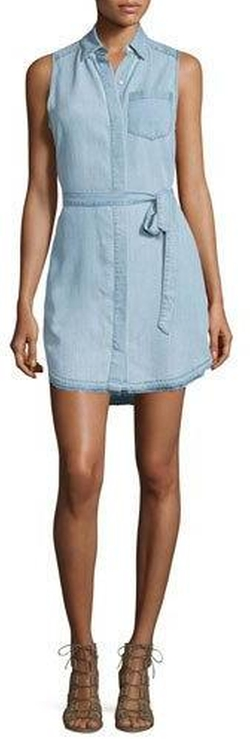 DL 1961 Premium Denim  - Crosby & Broome Chambray Shirtdress