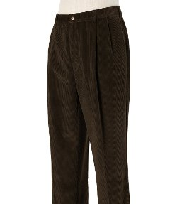 Jos A. Bank - Colorfast Casual Corduroy Pleated Front Pants