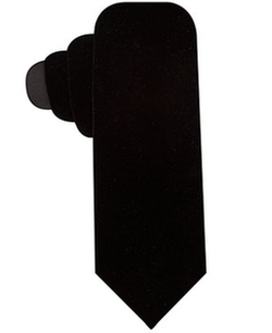 Ryan Seacrest Distinction  - Velvet Solid Slim Tie