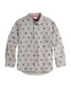Paul Smith   - Graphic-Print Button-Down Shirt