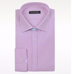 Forzieri - Check Cotton Dress Shirt