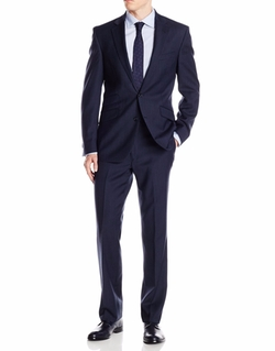 Kenneth Cole New York - Stripe 2 Button Notch Lapel Suit
