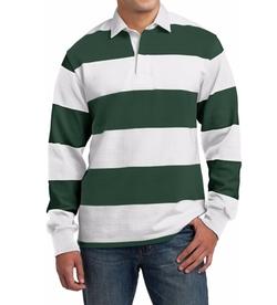 Sport-Tek - Long Sleeve Rugby Polo Shirt
